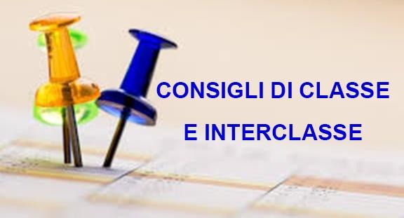 Convocazione Consigli di interclasse